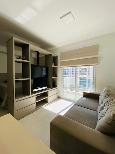 Apartamento/Loft mobiliado execelente condomínio