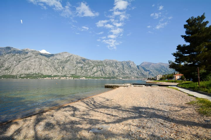 Seafront apartment near Kotor