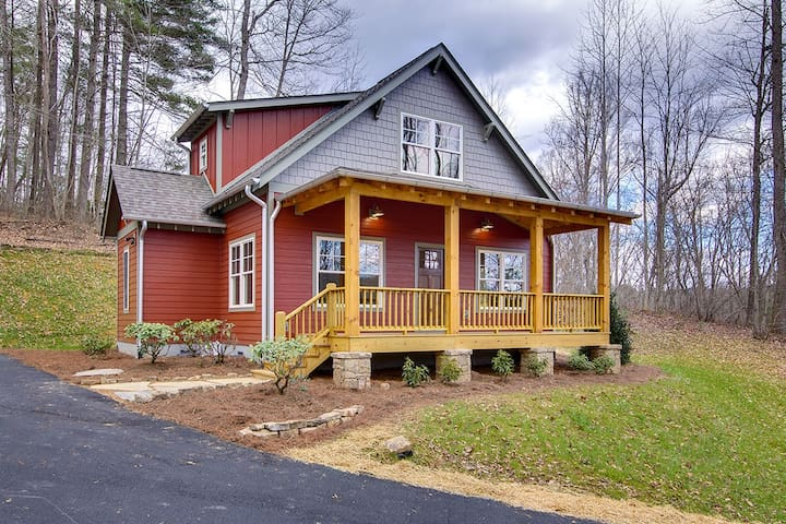 Little Red Cottage - Pisgah Forest - Haus