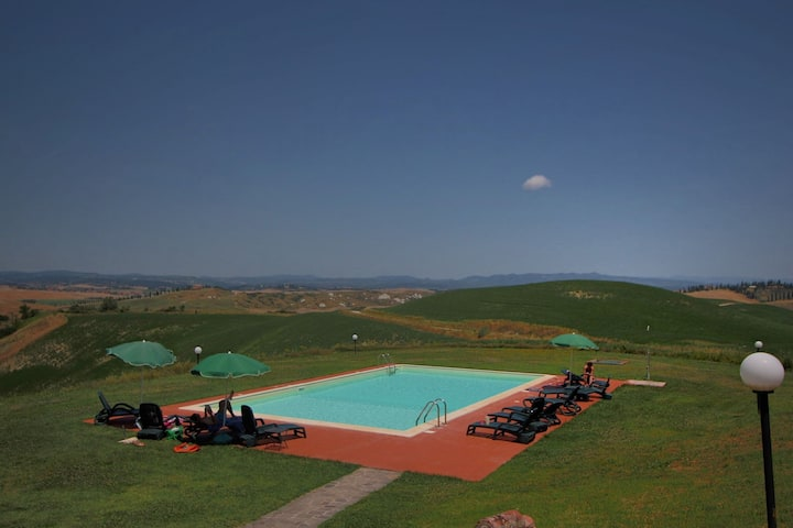 Large Farmhouse  in Asciano with Swimming Pool