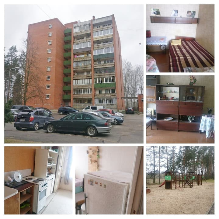 Authentic, Soviet union styled flat, 4 guests.