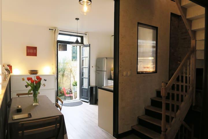 Charmante maison en centre ville - Fécamp - Huis
