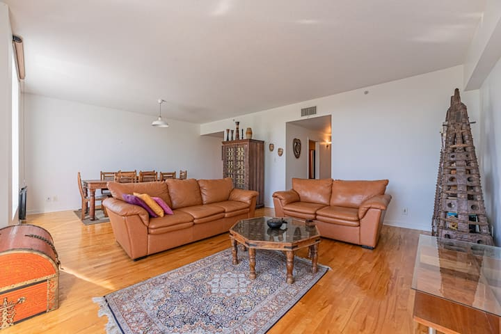 RIVERFRONT APARTMENT IN THE HEART OF OLD PORT OF MONTREAL - DOWNTOWN