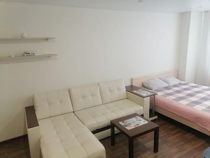 Светлая квартира в Центральном р-не @volga_aparts