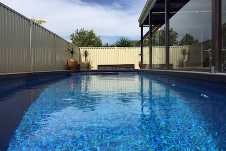 Modern House with Swimming Pool - Point Cook