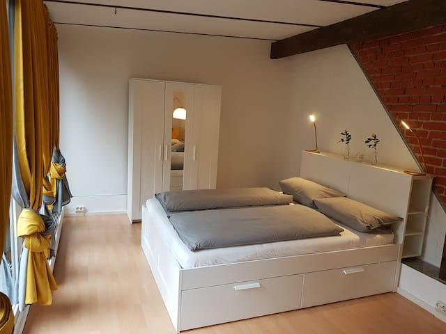 Bedroom, Queensize bed 1,60x2,00 m