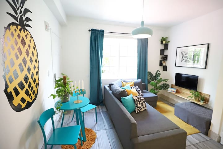 Beachy 1BDR w/Parking 5min to South Beach | 1 Bedroom Apartment