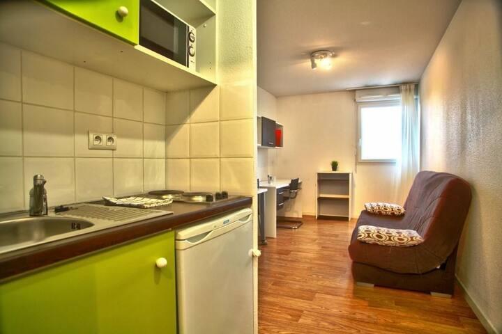 logement moderne de 20m2 Bien équipé