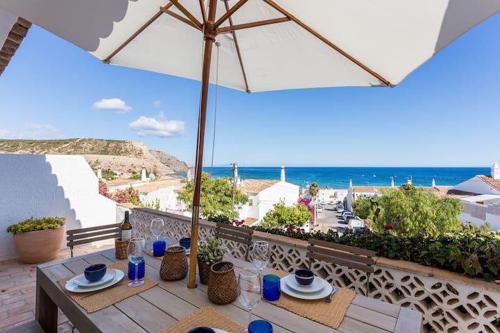CoolHouses Algarve Luz 3 Bed townhouse, amazing sea view, Casa da Ortiga (34241/AL)