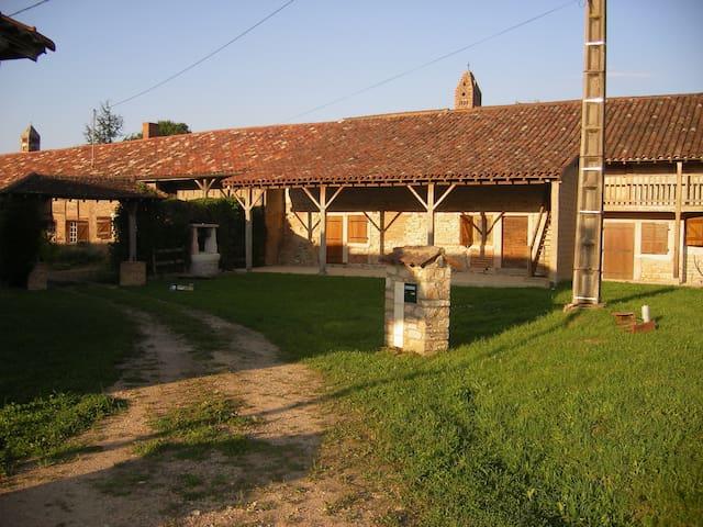 Grande ferme Bressane - Romenay - Huis
