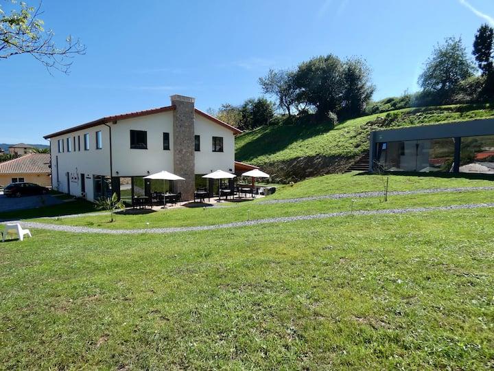 Primer Hotel Passivhaus de España Camino Primitivo
