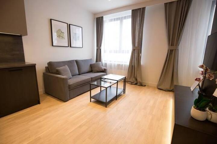 Lux Apartment Mokotów Chopin Airport Parking Wifi - Warszawa - Apartment