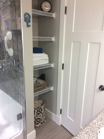 Petite Suite with private bath and private entry.