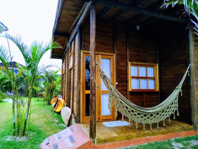 Bangalô Homeoffice c/ Saída exclusiva Para Praia 2
