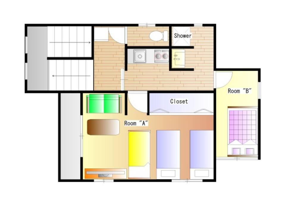 Floor Plan for 4P