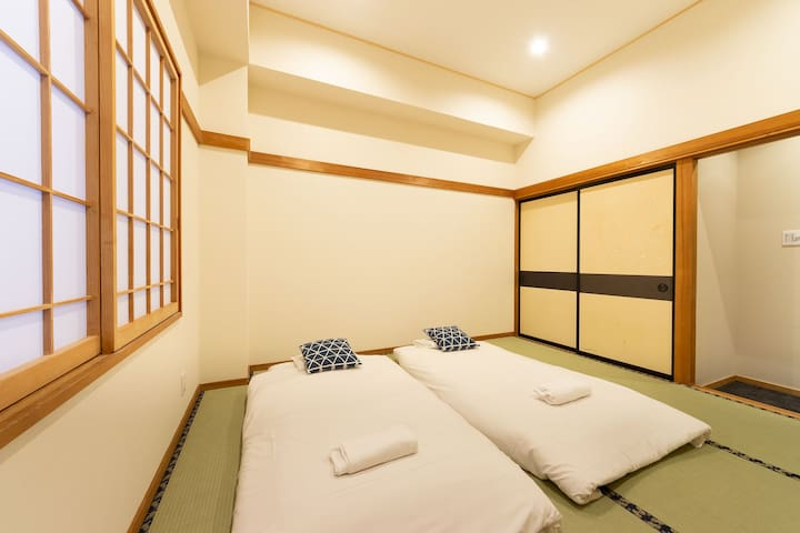 Nozawa Onsen triple room next to ski resort