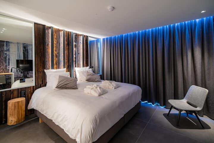 Chambre confort hiver (terrasse et accès wellness)