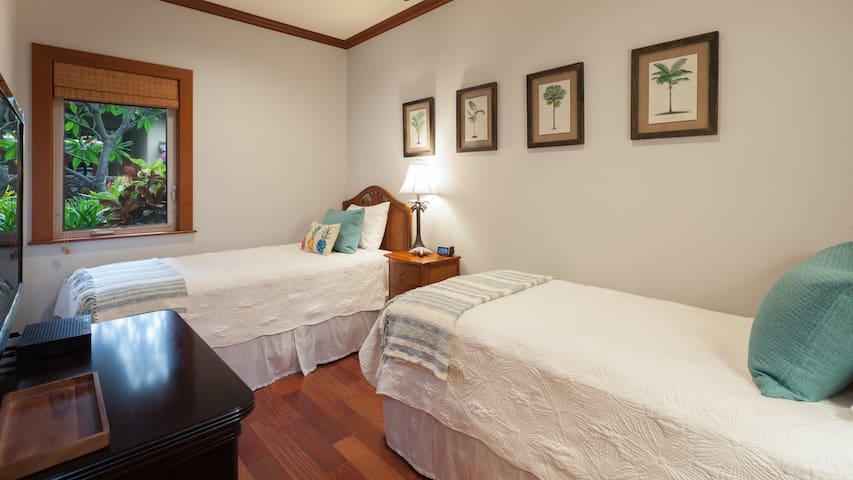 Bedroom #4  - Two TwinXL bedrooms
