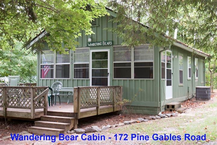 Wandering Bear Cabin, Rustic Romantic Cabin