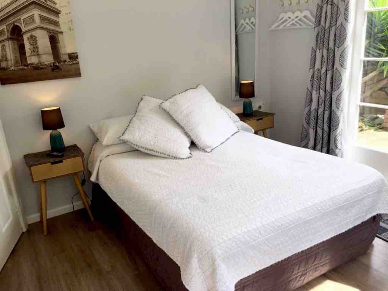 Studio room, with Double bed.