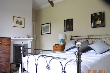 Wrangaton Manor Farm Double Bedroom on Dartmoor