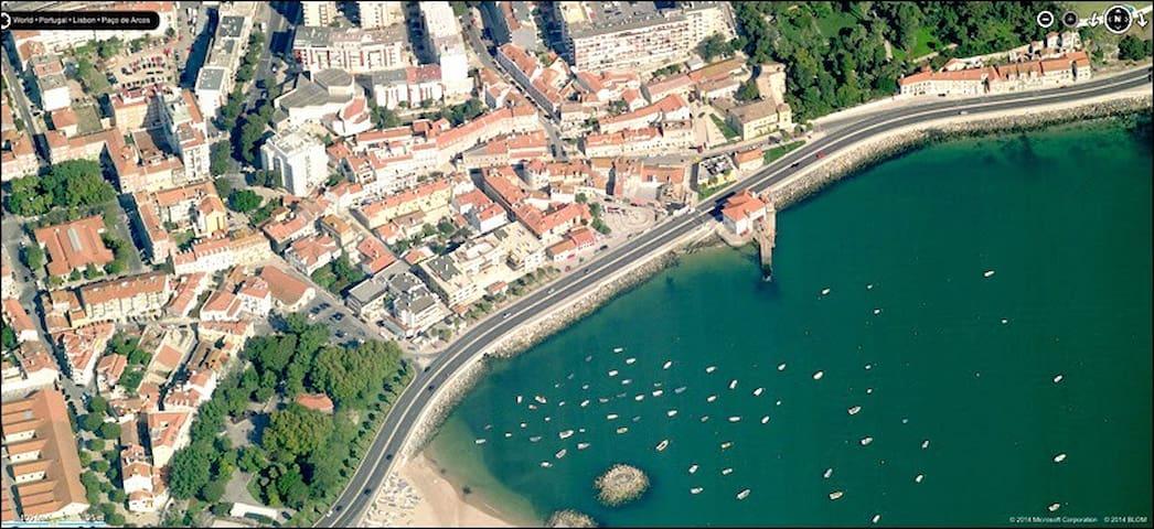Zona Historica de Paço de Arcos e perto Praia - Paço de Arcos - Huoneisto