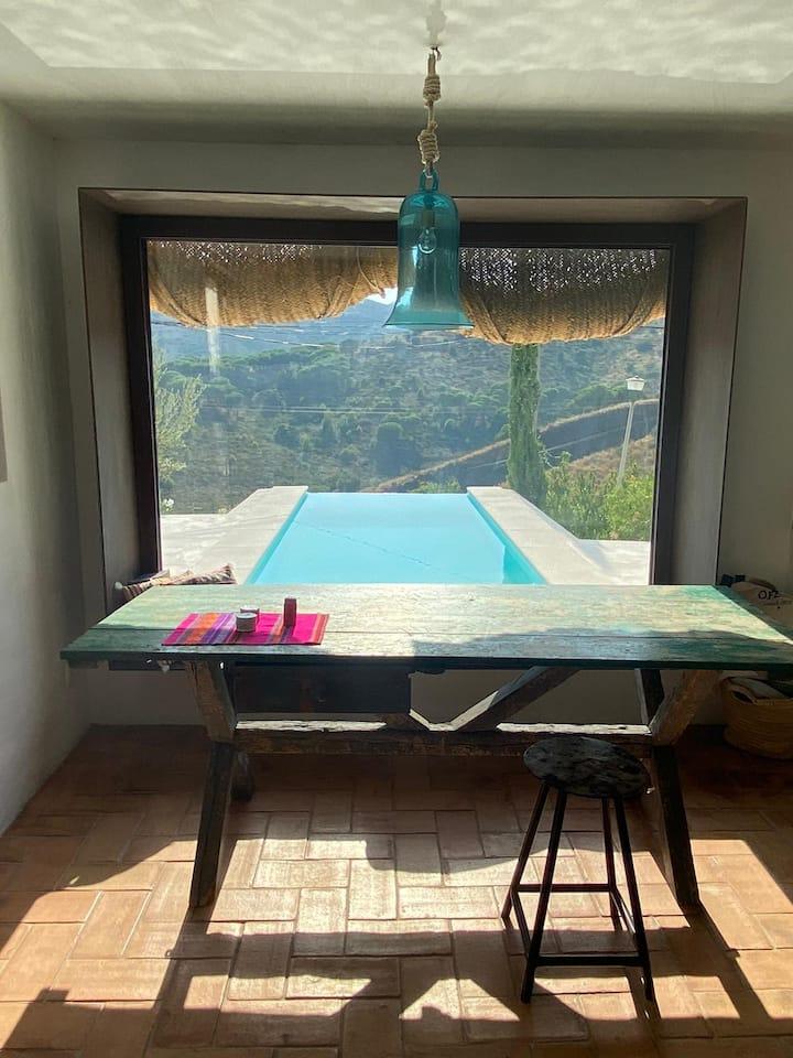 Bonita casa de estilo ibicenco en la Costa Brava