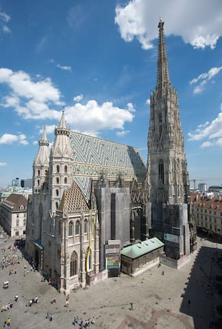 Lovely apartment Nearby Stephansdom - Vienna - Pis
