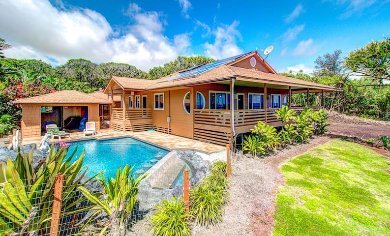 Kai Malolo - Amazing Eco-friendly Oceanfront Home! - Pāhoa - Lejlighed
