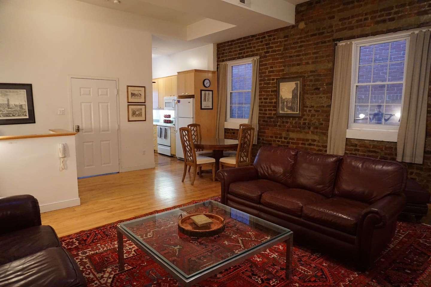 Living Space / Upstairs