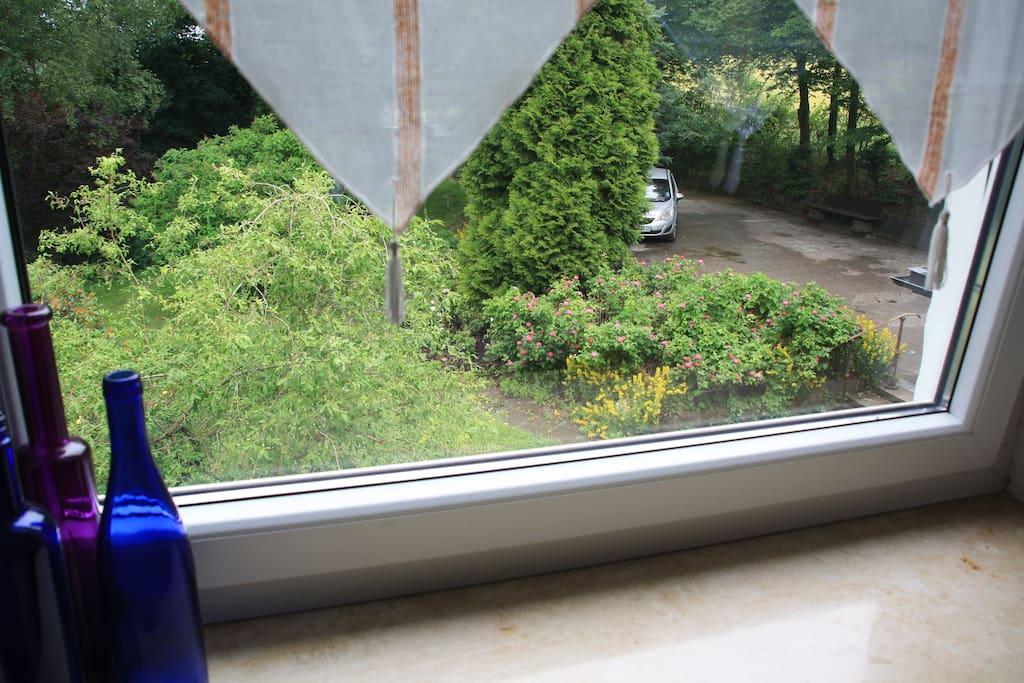 Westfenster Wohn-/Schlafraum