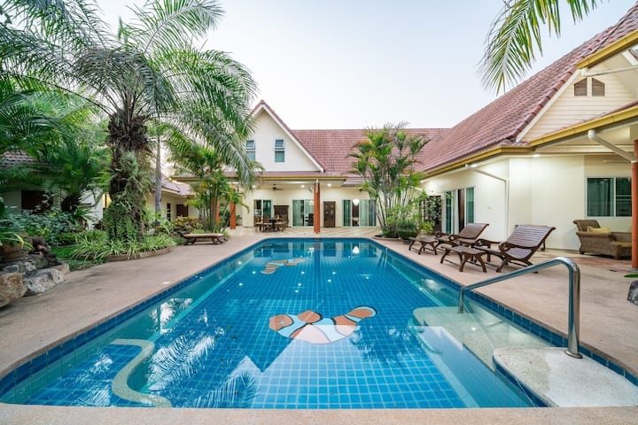 芭堤雅汇雅别墅66号(Huaiyai Villa Pattaya No.66)
