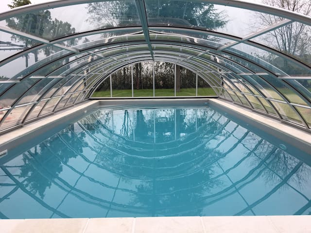 Frühlingstage bei Bibione genießen-beheiztem Pool