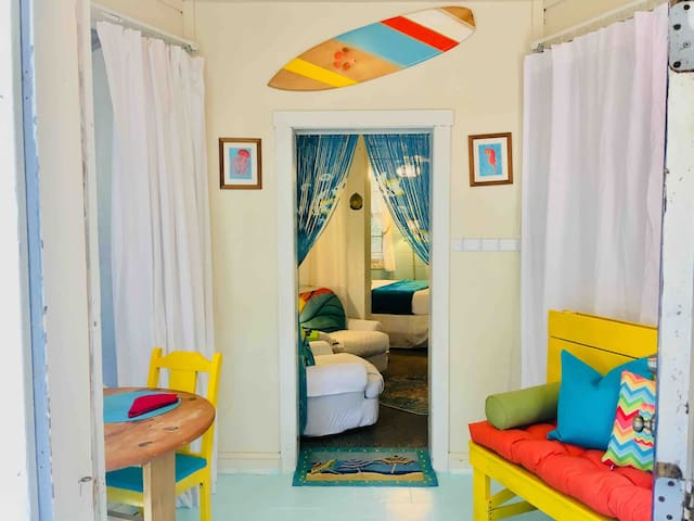 Cute & Quirky Tybee Beach Bungalow