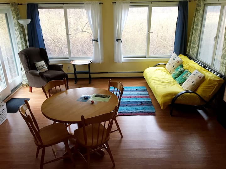 The Mountain View Suite in the heart of Woodstock