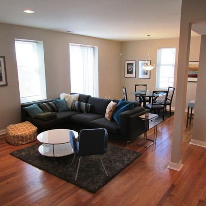 All furnishings are brand new throughout the condo!