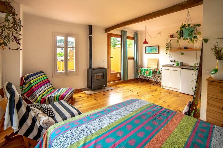 Cosy Cottage Suite sur la rivière - Girona