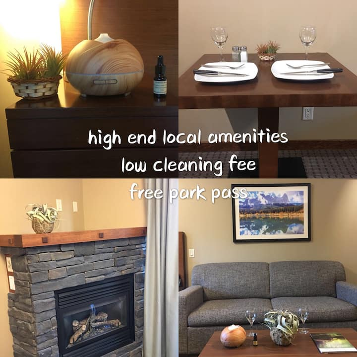 100% Happy Canmore stay guaranteed/ best value