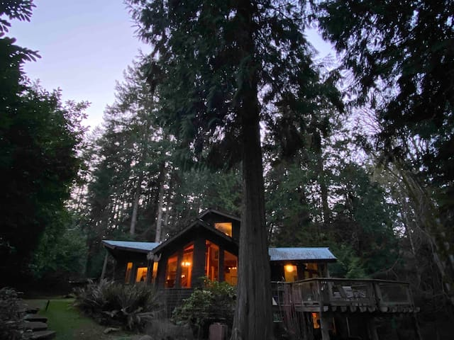 "The ""Nest"" at Galiano Island -5 min to the beach"