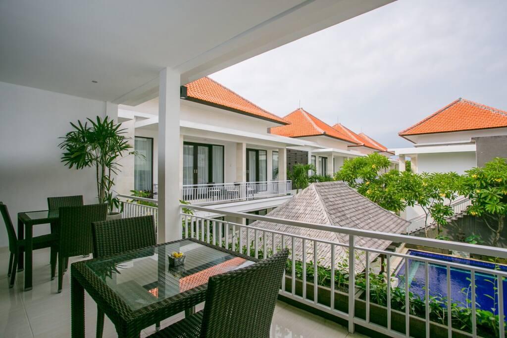 Suite Pavilion Balcony