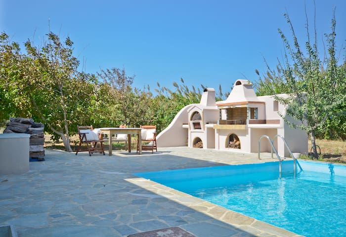 Maisonette Villa with private pool, 2BR and BBQ