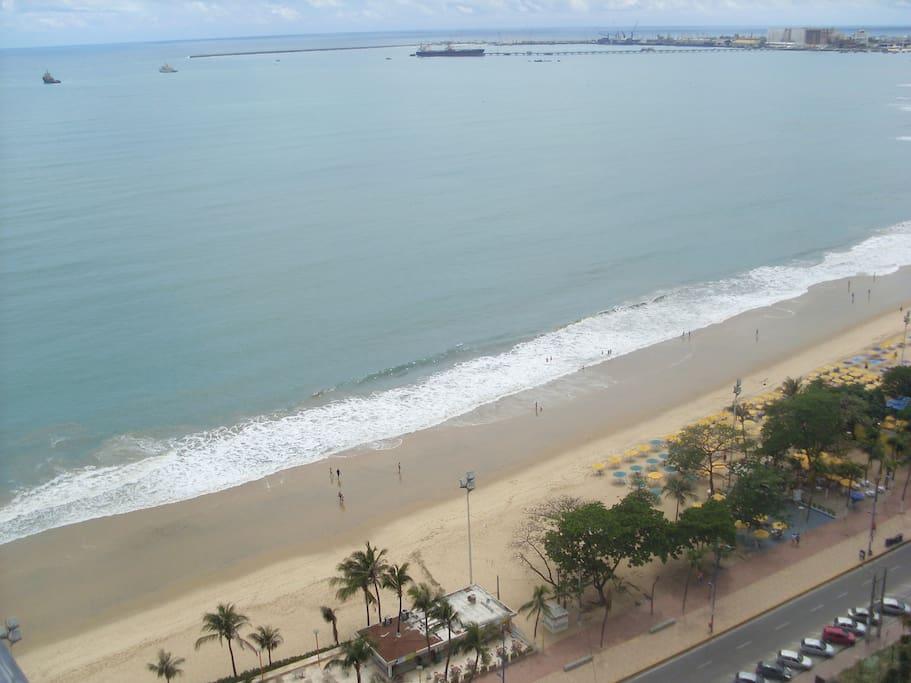 Visão completa da Beira-Mar