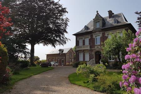 Grand Manoir et son parc de 5000 m2 proche ETRETAT - Tourville-les-Ifs