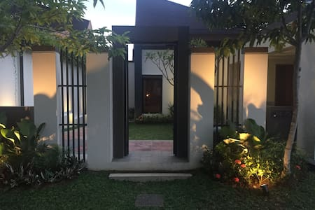 Modern Villa with a touch of Indonesian ethnic