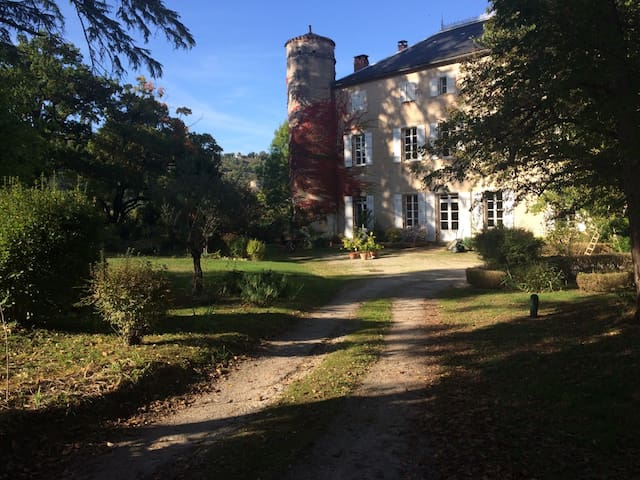 Château Saint-Ambroise, chambre du parc