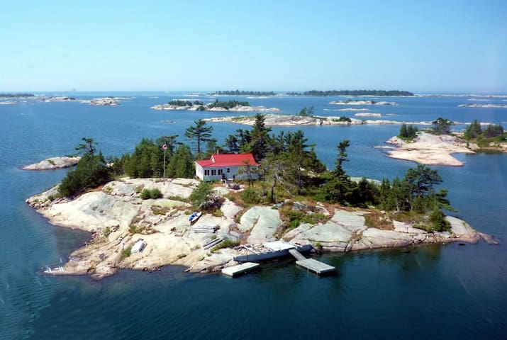 Private island retreat on Georgian Bay