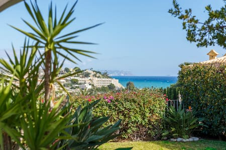 Bright modern villa with natural salt water pool - El Campello - Villa