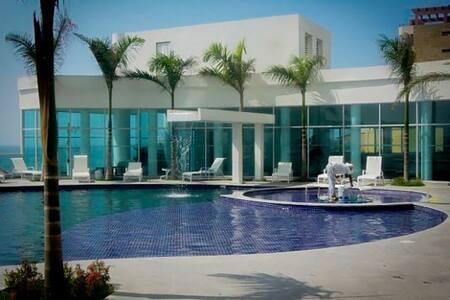 Beautiful Apartment Beach View 2R2B - Cartagena - Appartement