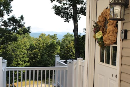 Pisgah View Retreat - gorgeous view! Near Brevard. - Pisgah Forest