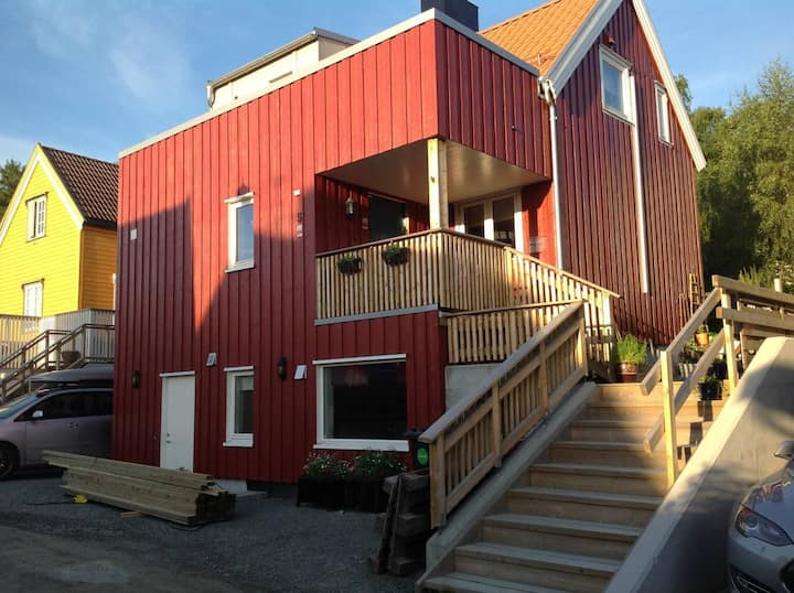 Trondheim Old Town. Øvre Kristianstens gate 5.